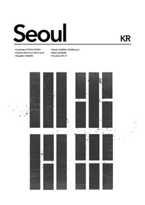 Seoul Abstract  Posters Platser