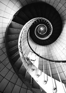 Spiral Stairs  Prints Architecture