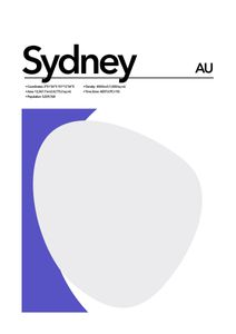 Sydney Abstract  Prints Places & Cities