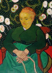 The Berceuse, Woman Rocking A Cradle By Van Gogh  Posters Nyheter
