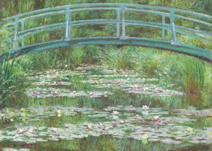 The Japanese Footbridge By Monet  Poster Neuheiten