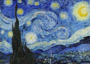 The Starry Night By Van Gogh  Prints New In