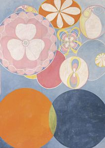 The Ten Largest, No. 2, Childhood By Hilma Af Klint  Posters New Arrivals