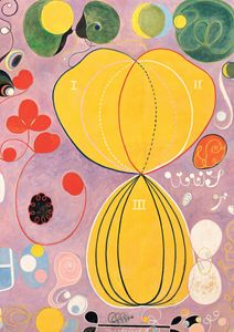 The Ten Largest, No. 7 By Hilma Af Klint  Posters New Arrivals