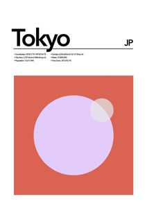 Tokyo Abstract  Prints Places & Cities