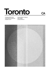 Toronto Abstract  Affiches Villes et Endroits