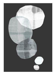 Translucent Stones  Poster Abstraktes Motiv