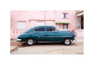 Vintage Car  Affiches Scènes américaines