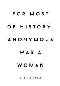 Virginia Woolf Quote  Prints Typography & Quotes
