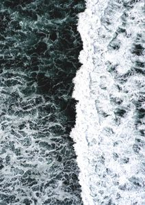 Wave Collision  Affiches Nature & Paysages