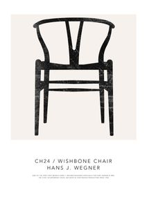 Wishbone Chair  Poster Bestseller