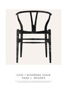 Wishbone Chair Poster