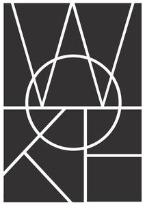 WOKE  Poster Typografie und Zitate