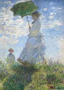 Woman With A Parasol By Monet  Prints New In
