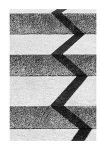 Zigzag Shadow  Posters Fotokonst