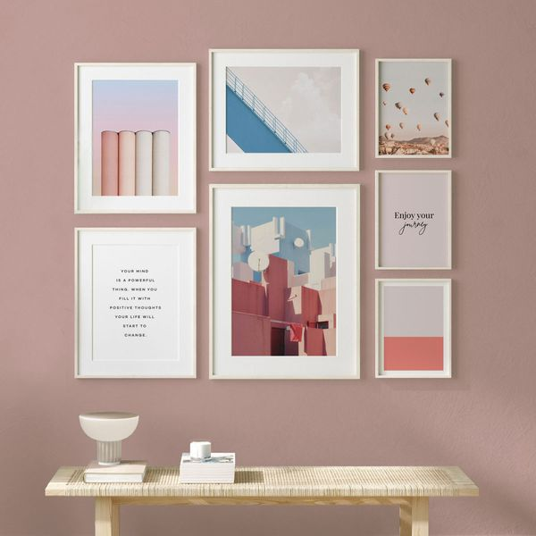 Pink Pastel Wall