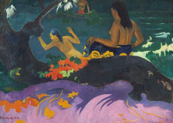 By The Sea By Gauguin