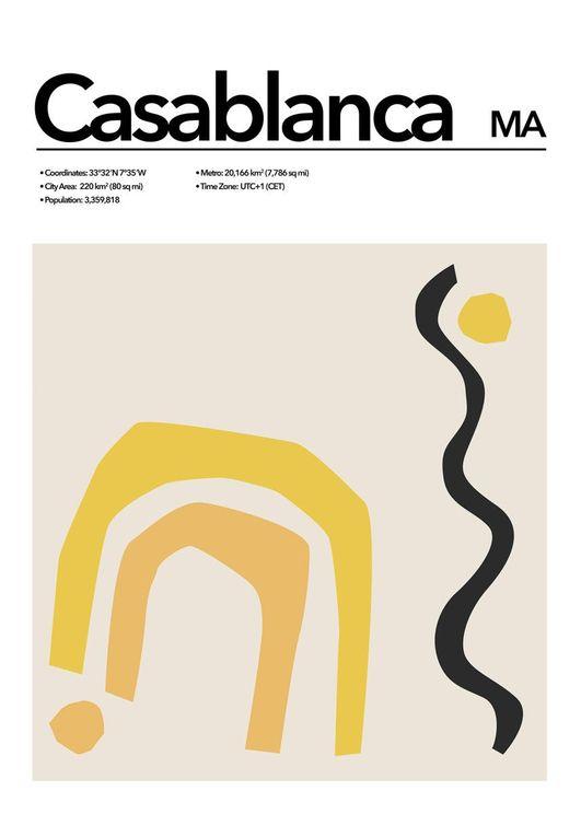 Casablanca Abstract