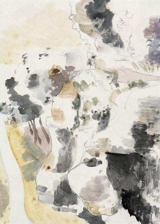 Cliffs By Paul Nash