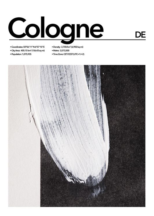 Cologne Abstract
