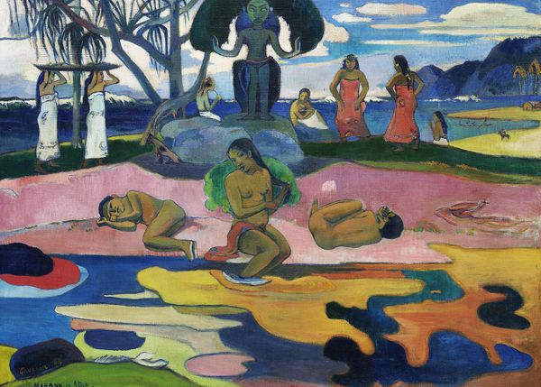 Day Of The God By Gauguin