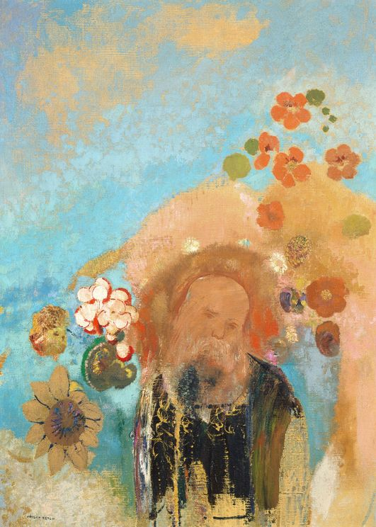 Evocation Of Roussel By O.Redon