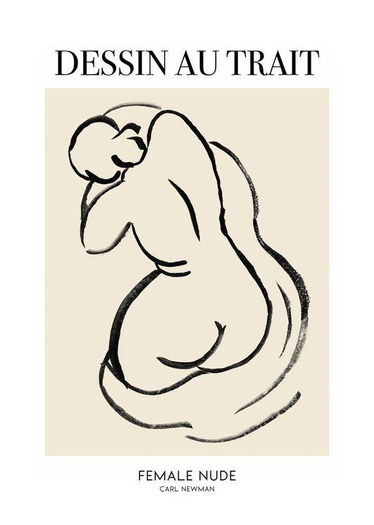 Female Nude 2 By Carl Newman