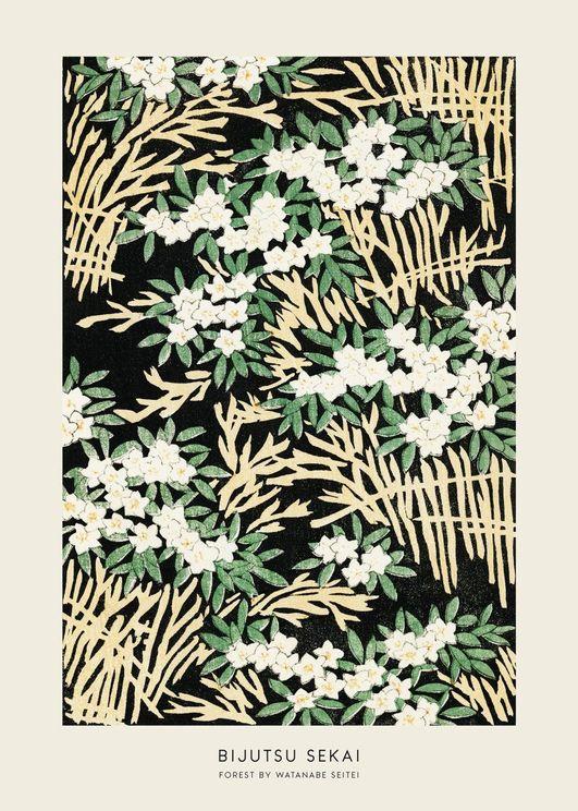 Forest By Watanabe Seitei