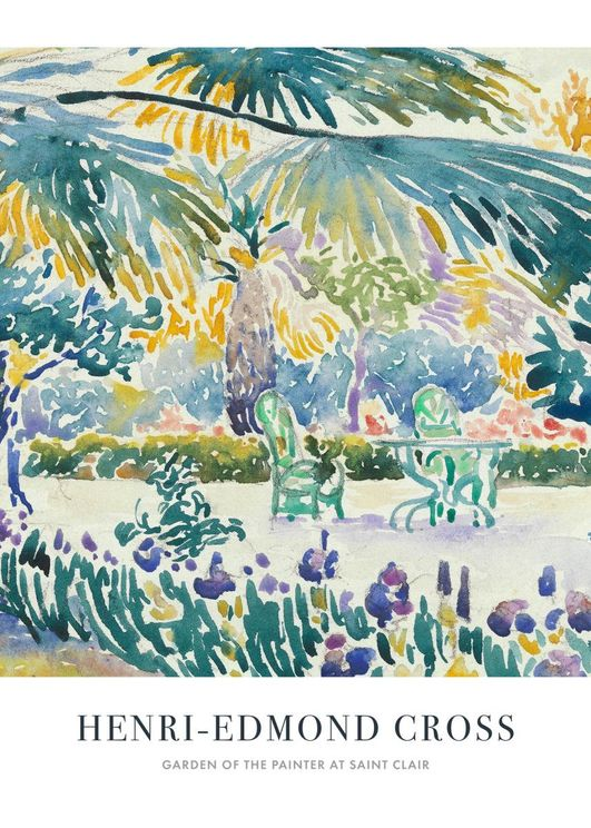 Garden Of The Painter At Sain Clair