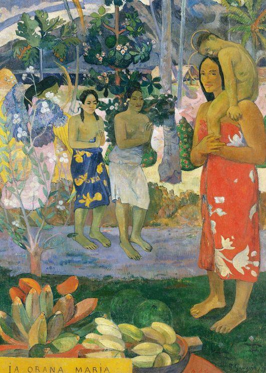 Hail Mary By Gauguin