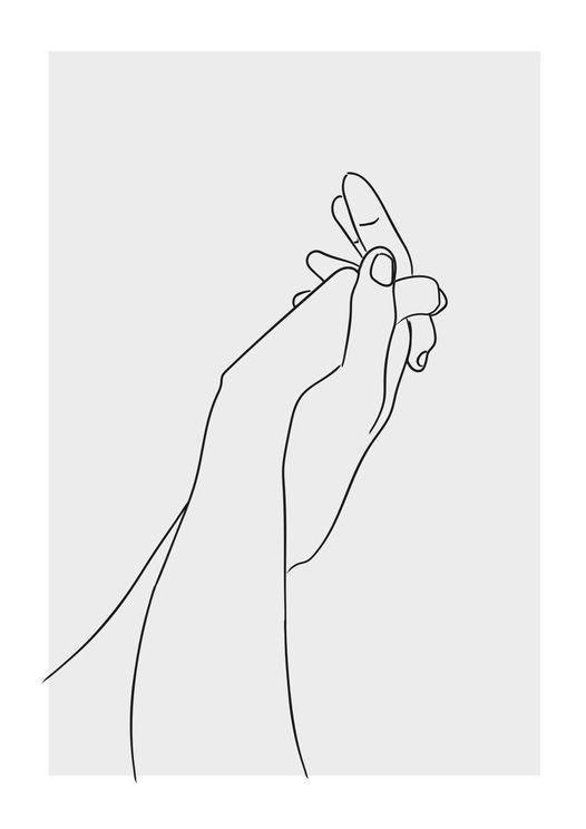 Hold My Hand Grey
