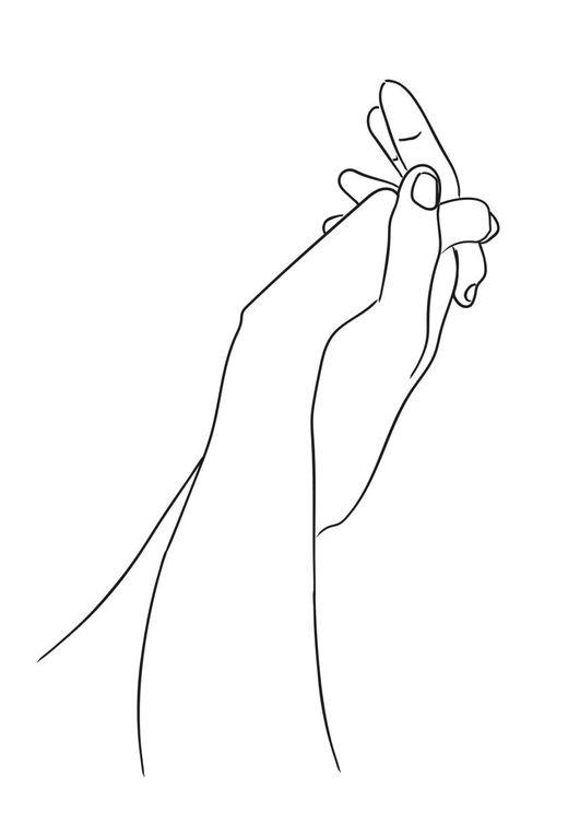 Hold My Hand White