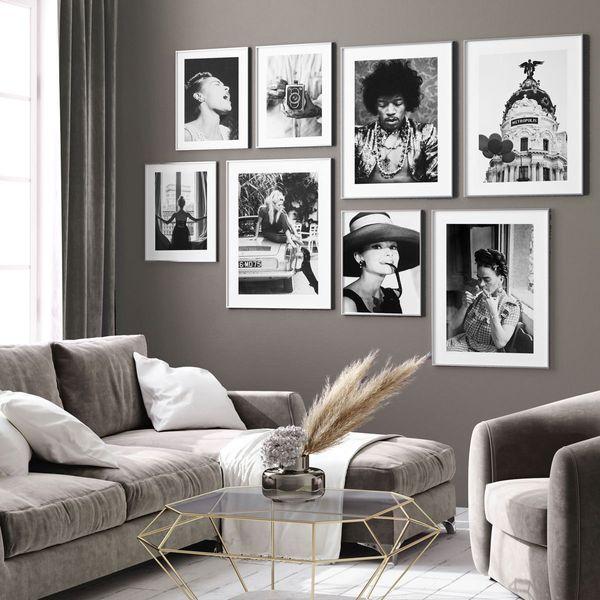 Icons Grey Wall