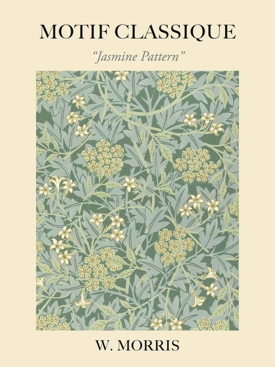 Jasmine Pattern By William Morris