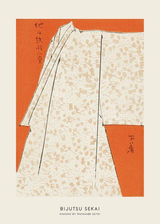 Kimono By Watanabe Seitei