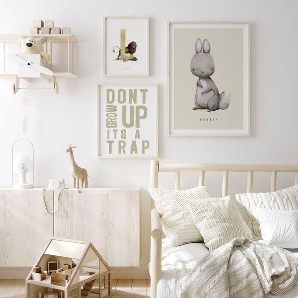 Light Bunny Wall