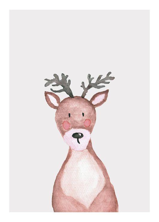 Lil Winter Deer