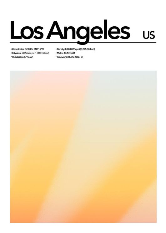 Los Angeles Abstract