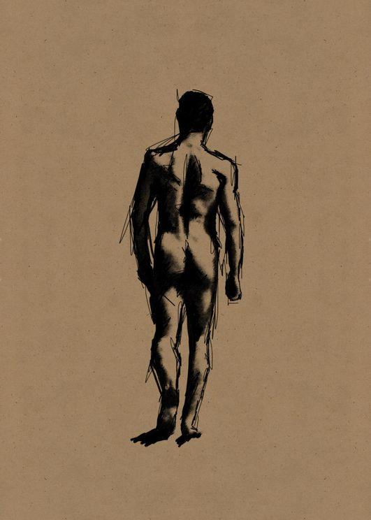 Man Walking Anatomy