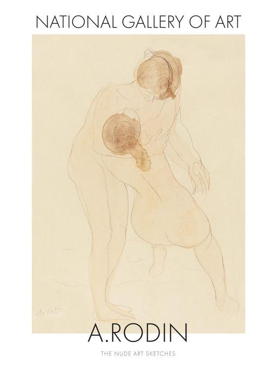 Nude Art Sketch 1 By Auguste Rodin