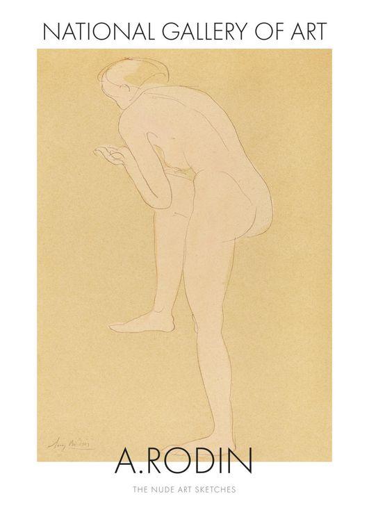 Nude Art Sketch 2 By Auguste Rodin