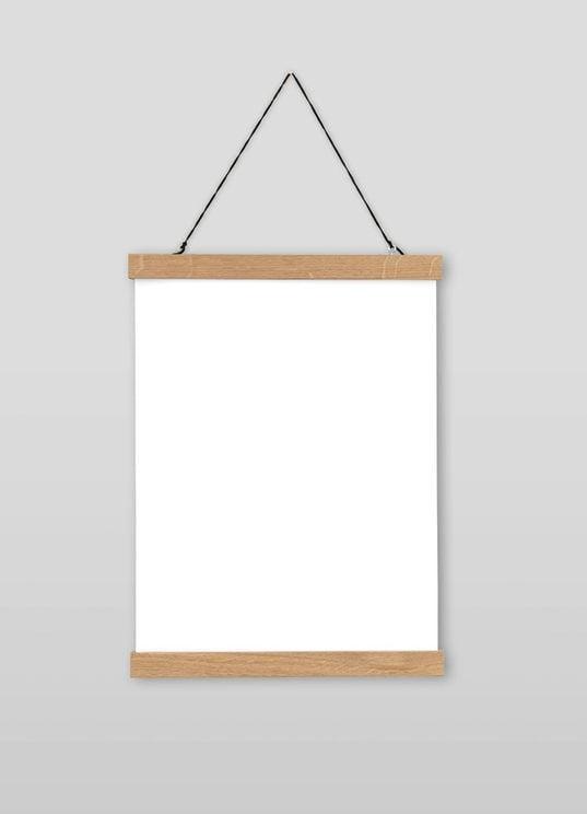 Posterleiste - Eiche