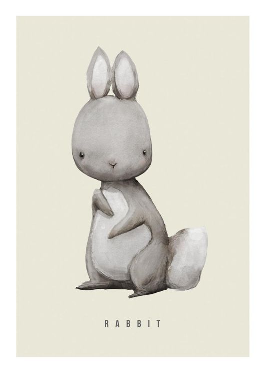 Rabbit Watercolor