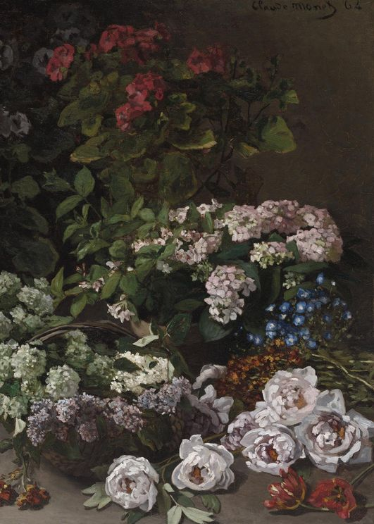 Spring Flowers By Monet