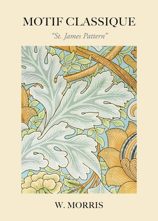 St James Pattern By William Morris
