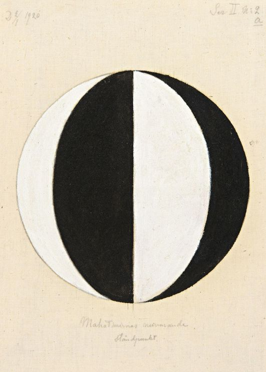 The Current Standpoint Of The Mahatmas By Hilma Af Klint