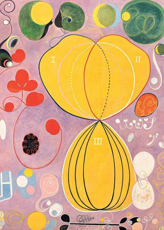 The Ten Largest, No. 7 By Hilma Af Klint