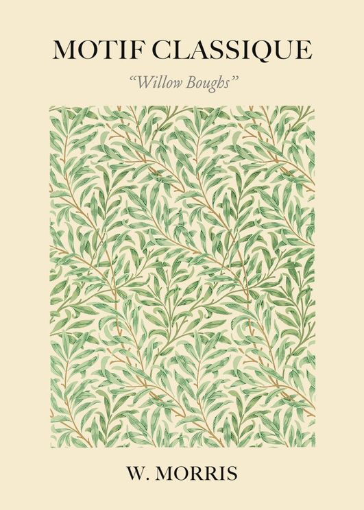 Willow Boughs By William Morris